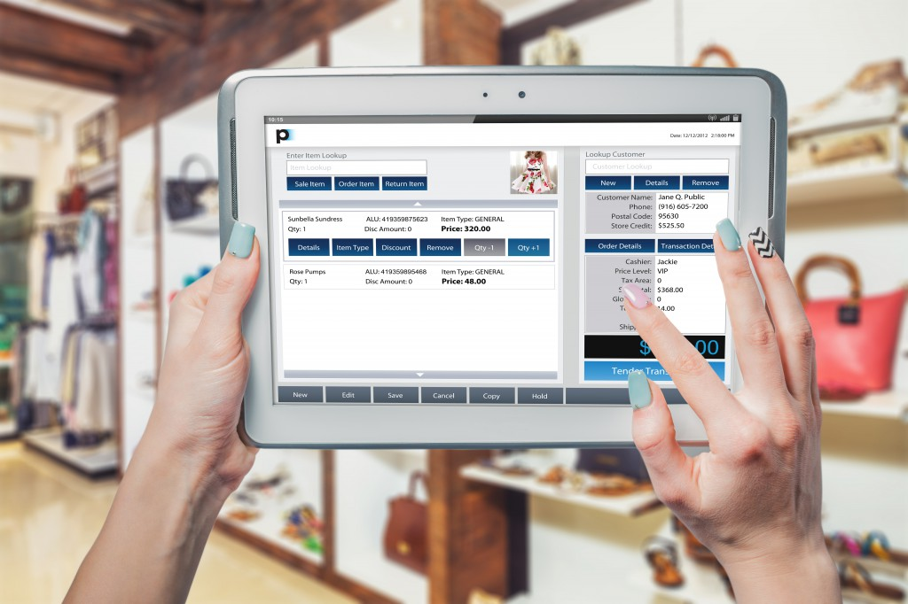 mobile point of sale software