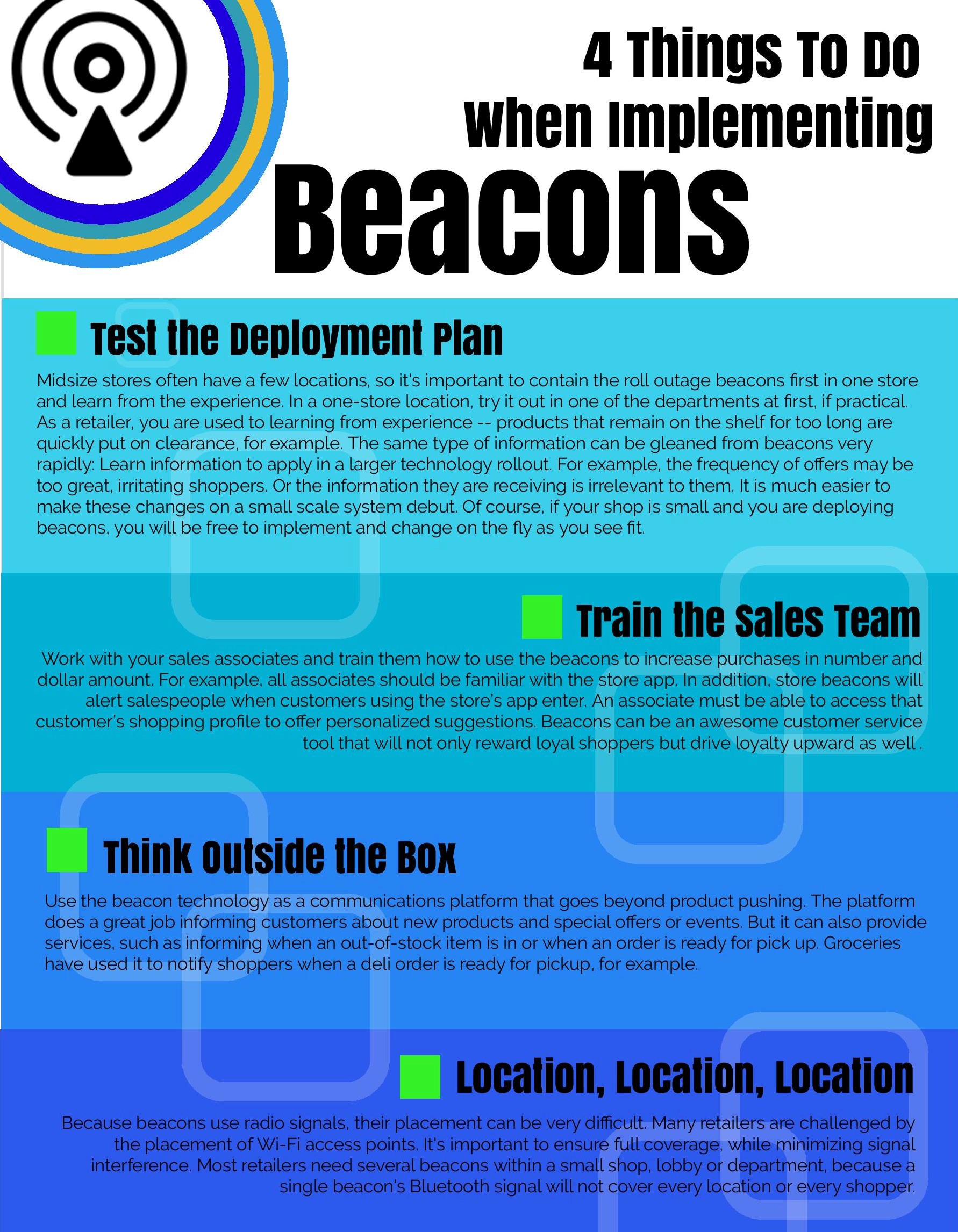 4 beacon tips