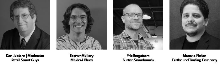 Omnichannel panel guest speakers. See their bios below.