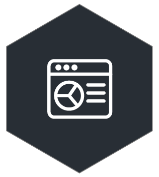 Application Screen icon with data
