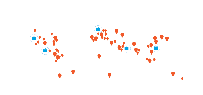 90+ Local Support Offices around the World