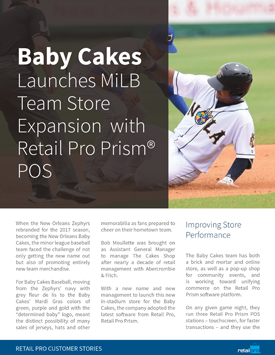 New Orleans Baby Cakes MiLB Team Store