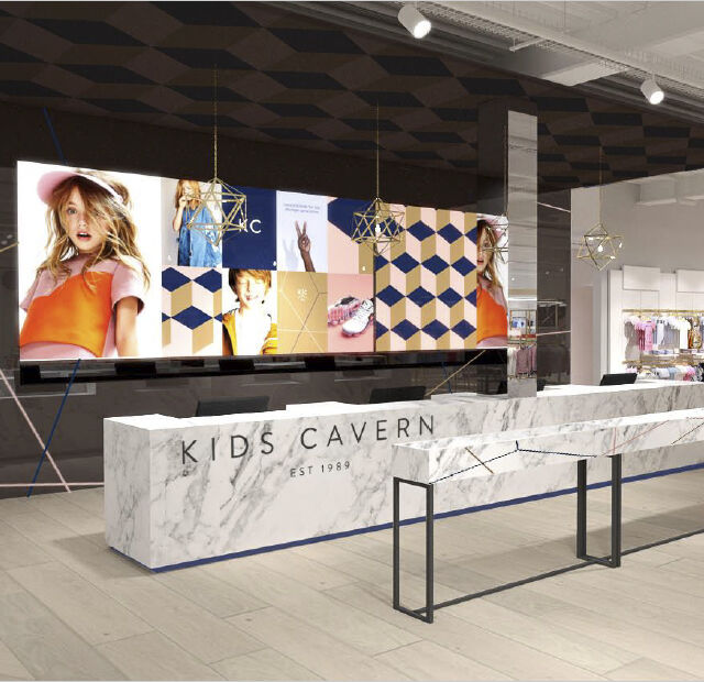 Kids Cavern Checkout